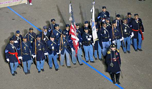 54th Infantry in Obama Innaugural Parade