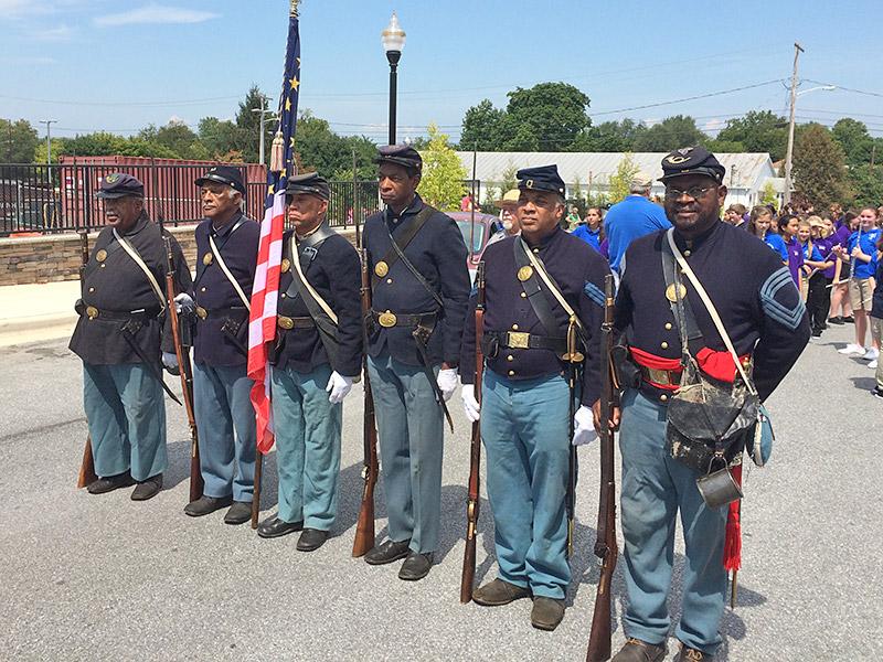 Members Lead Parade