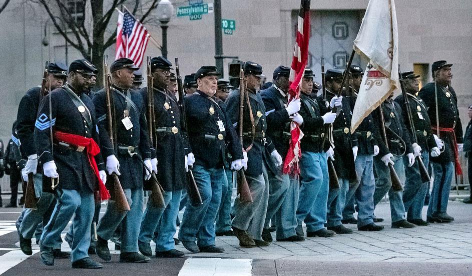 54th Massachusetts at the 2013 Obama Inaugural Parade