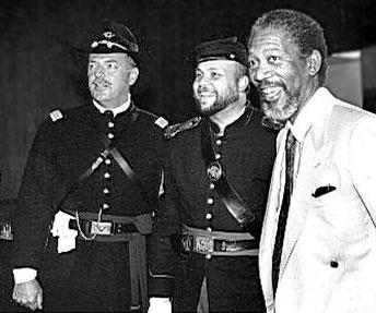 Captain Jack L. Thompson, Bill Gwaltney, Morgan Freeman