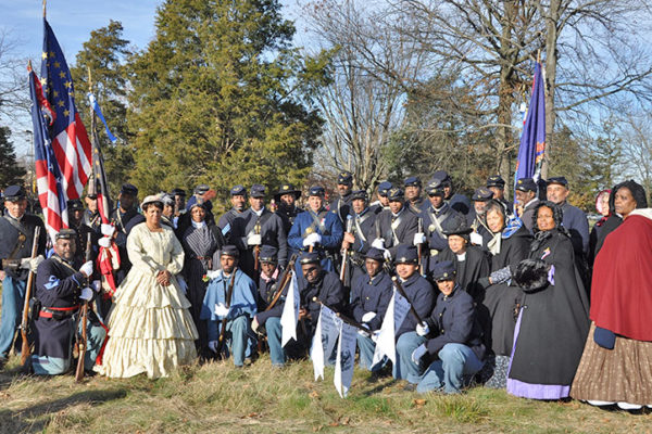 USCT Units at Remembrance Day